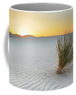 Yucca Plant At White Sands Coffee Mug