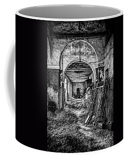 Coffee Mug featuring the photograph Abandoned Villa by Traven Milovich