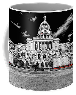 Coffee Mug featuring the photograph Capitol Building by Peter Lakomy