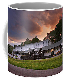 Cass Scenic Railroad Coffee Mug by Mary Almond