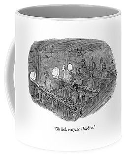 Oh, Look, Everyone. Dolphins Coffee Mug