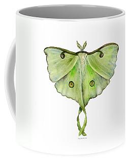 100 Luna Moth Coffee Mug