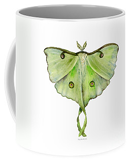 100 Luna Moth Coffee Mug