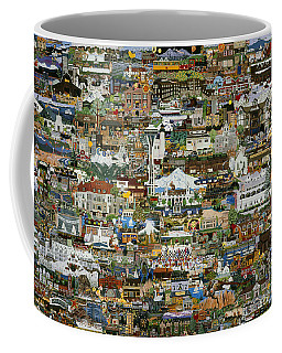 100 Painting Collage Coffee Mug