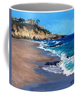 1000 Steps Beach In Laguna Beach California Coffee Mug