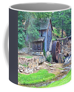 Sixes Mill On Dukes Creek - Square Coffee Mug
