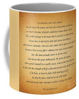 104- Theodore Roosevelt Coffee Mug