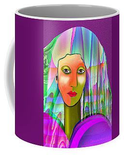 1079 - Mysterious  Lady With A Veil 2017 Coffee Mug