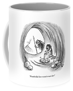 Neanderthals Have Moved In Next Door! Coffee Mug