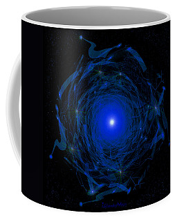 1138 -  Travelling To The Light Coffee Mug by Irmgard Schoendorf Welch