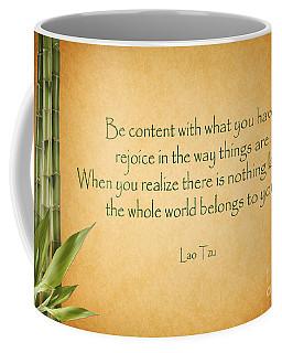 114- Lao Tzu Coffee Mug