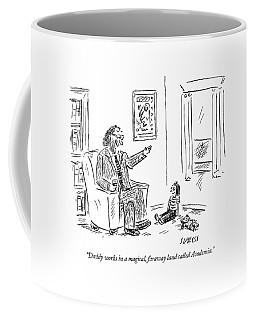 Daddy Works In A Magical Coffee Mug