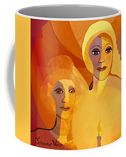 1196 - Candle Of Our Life .. Coffee Mug by Irmgard Schoendorf Welch