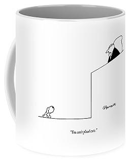 You Can't Plead Cute Coffee Mug by Charles Barsotti