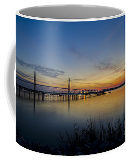 Coffee Mug featuring the photograph Peacefull Hues Of Orange And Yellow  by Dale Powell