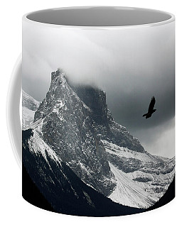The Clouds Roll Off The Top Coffee Mug