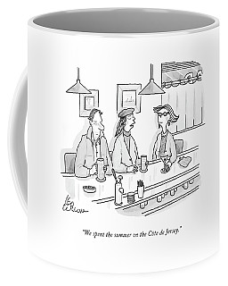 We Spent The Summer On The Cote De Jersey Coffee Mug