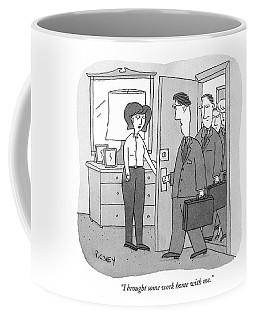 I Brought Some Work Home With Me Coffee Mug