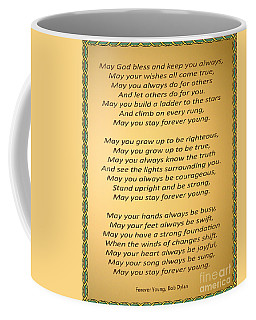 148- Bob Dylan Coffee Mug by Joseph Keane