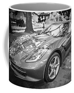 2014 Chevrolet Corvette C7 Bw   Coffee Mug