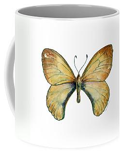15 Clouded Apollo Butterfly Coffee Mug
