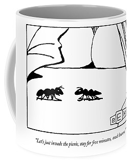 Let's Just Invade The Picnic Coffee Mug
