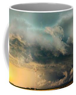 Industrial Light And Nebraska Thunderstorm Magic Coffee Mug