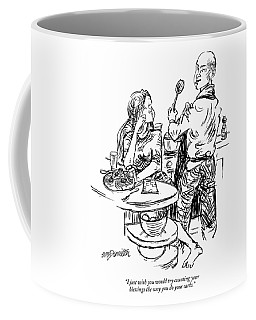 I Just Wish You Would Try Counting Your Blessings Coffee Mug