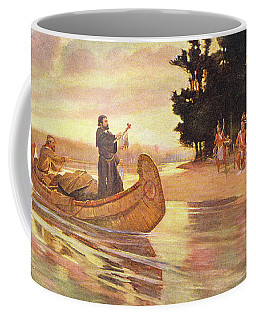 1600s 1600s Father Jacques Marquette Coffee Mug