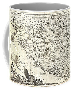 1690 Coronelli Map Of Montenegro Coffee Mug by Paul Fearn