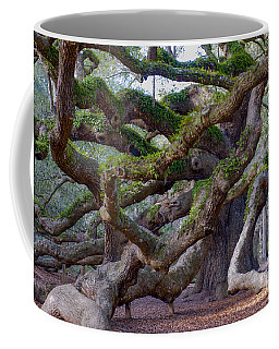 Angel Oak Tree Unique View Coffee Mug