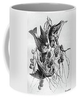 Blackburn Birds, 1895 Coffee Mug