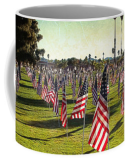 Coffee Mug featuring the photograph 1776 Flags by Glenn McCarthy Art and Photography