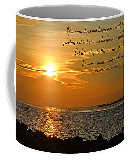 180- Henry David Thoreau Coffee Mug