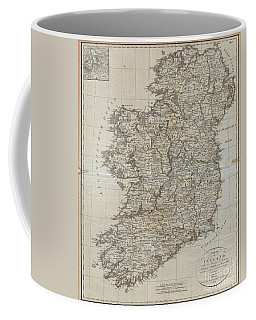 1804 Jeffreys And Kitchin Map Of Ireland Coffee Mug