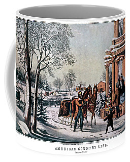 1850s American Country Life - Pleasures Coffee Mug