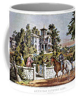 1850s American Country Life - Coffee Mug