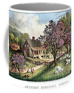 1860s American Homestead Spring - Coffee Mug