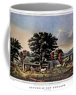 1860s Autumn In New England - Cider Coffee Mug