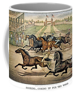 1860s Scoring - Coming Up For The Word Coffee Mug