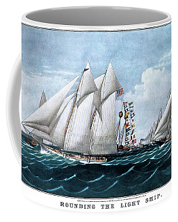 1870s Rounding The Light Ship - Coffee Mug