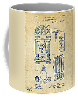 1889 First Computer Patent Vintage Coffee Mug