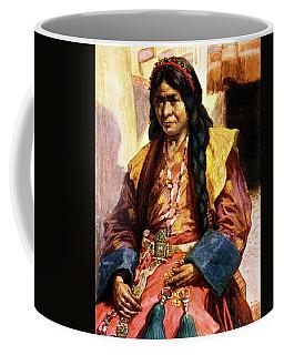 1900s 1902 Illustration Woman In Tibet Coffee Mug