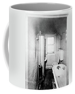 1900s Gas Water Heater In Narrow Coffee Mug