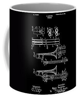 1901 Trombone Patent Coffee Mug