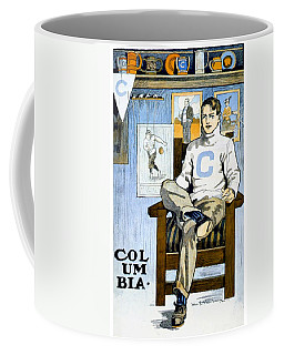 1902 - Columbia University Sports Poster - Color Coffee Mug