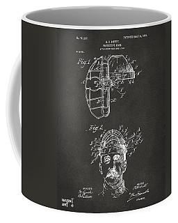 1904 Baseball Catchers Mask Patent Artwork - Gray Coffee Mug