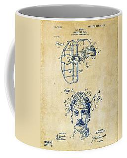 1904 Baseball Catchers Mask Patent Artwork - Vintage Coffee Mug