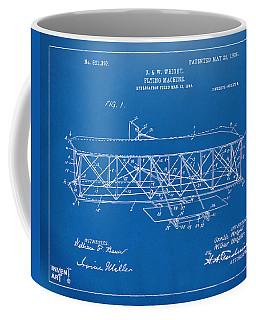 1906 Wright Brothers Flying Machine Patent Blueprint Coffee Mug