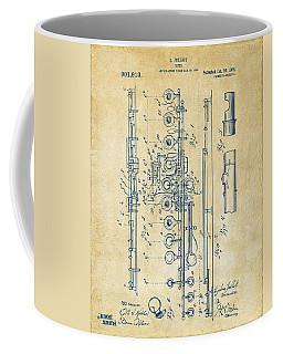 1908 Flute Patent - Vintage Coffee Mug